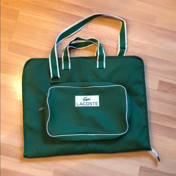 e4260f570b Nwot Lacoste Garment Bag | Poshmark
